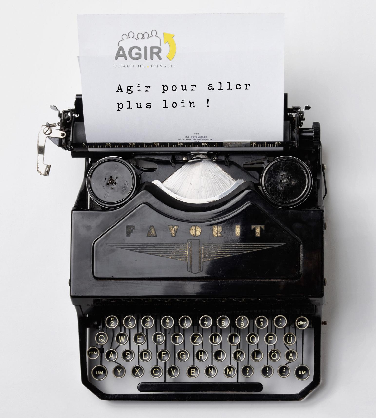 Agir-machine
